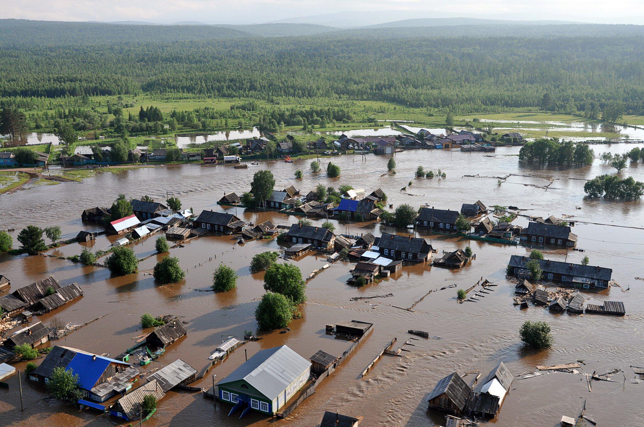 Bild zu Tote bei schweren Überschwemmungen inSibirien