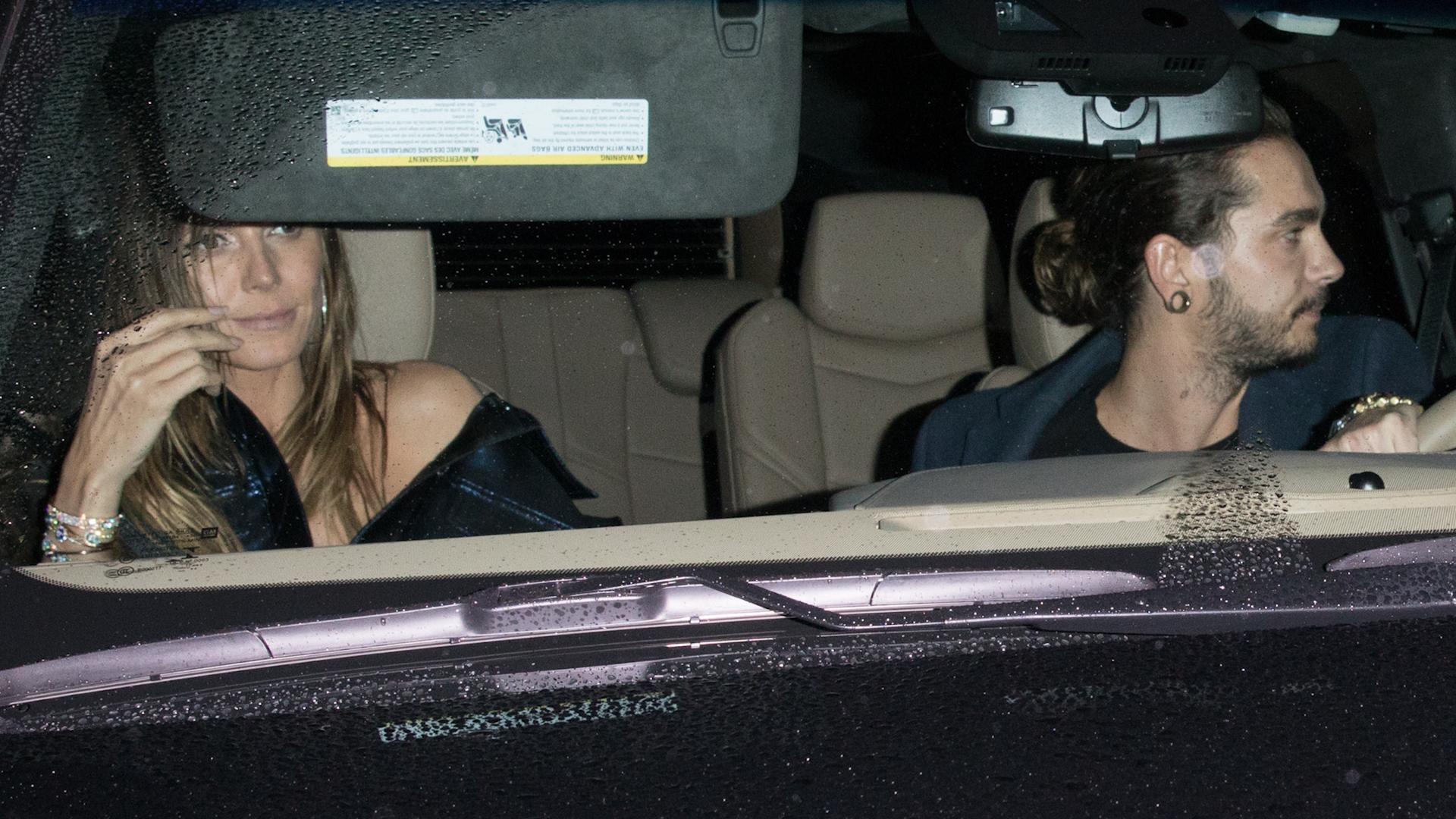 Bild zu Heidi Klum und Tom Kaulitz feiern gemeinsam in Los Angeles