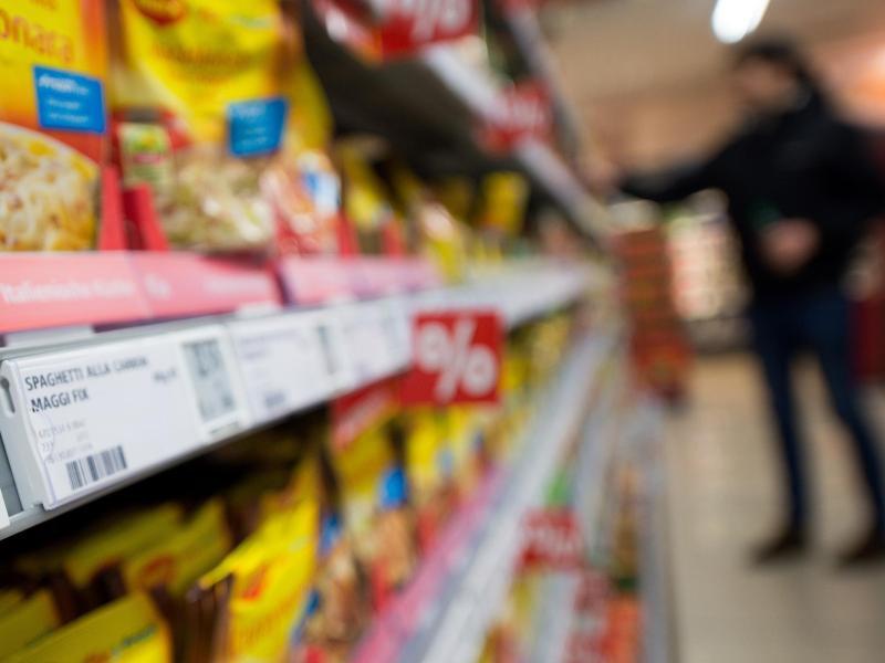 Bild zu Höhere Lebensmittelpreise