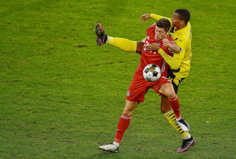 Bild zu Robert Lewandowski, Manuel Akanji, FC Bayern gegen Borussia Dortmund