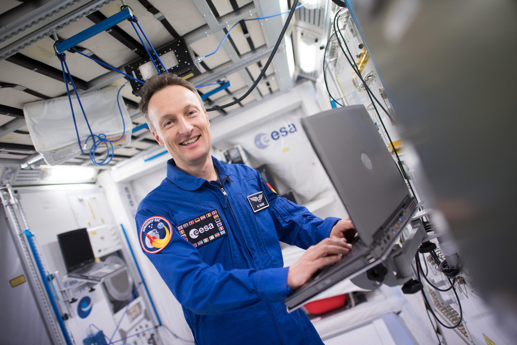 Bild zu Esa-Astronaut Matthias Maurer