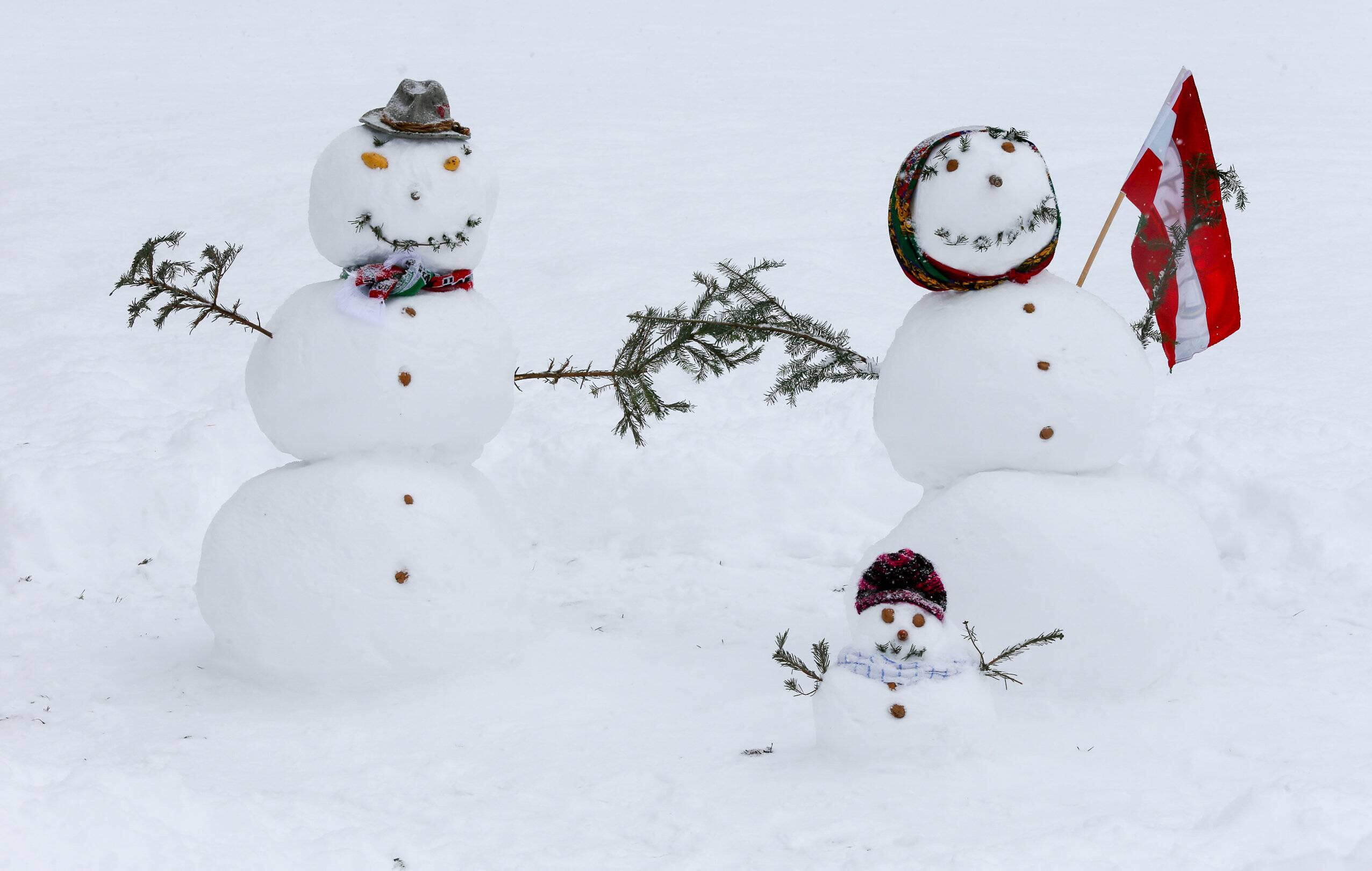 Bild zu Winter, Wetter, Schnee, Glätte