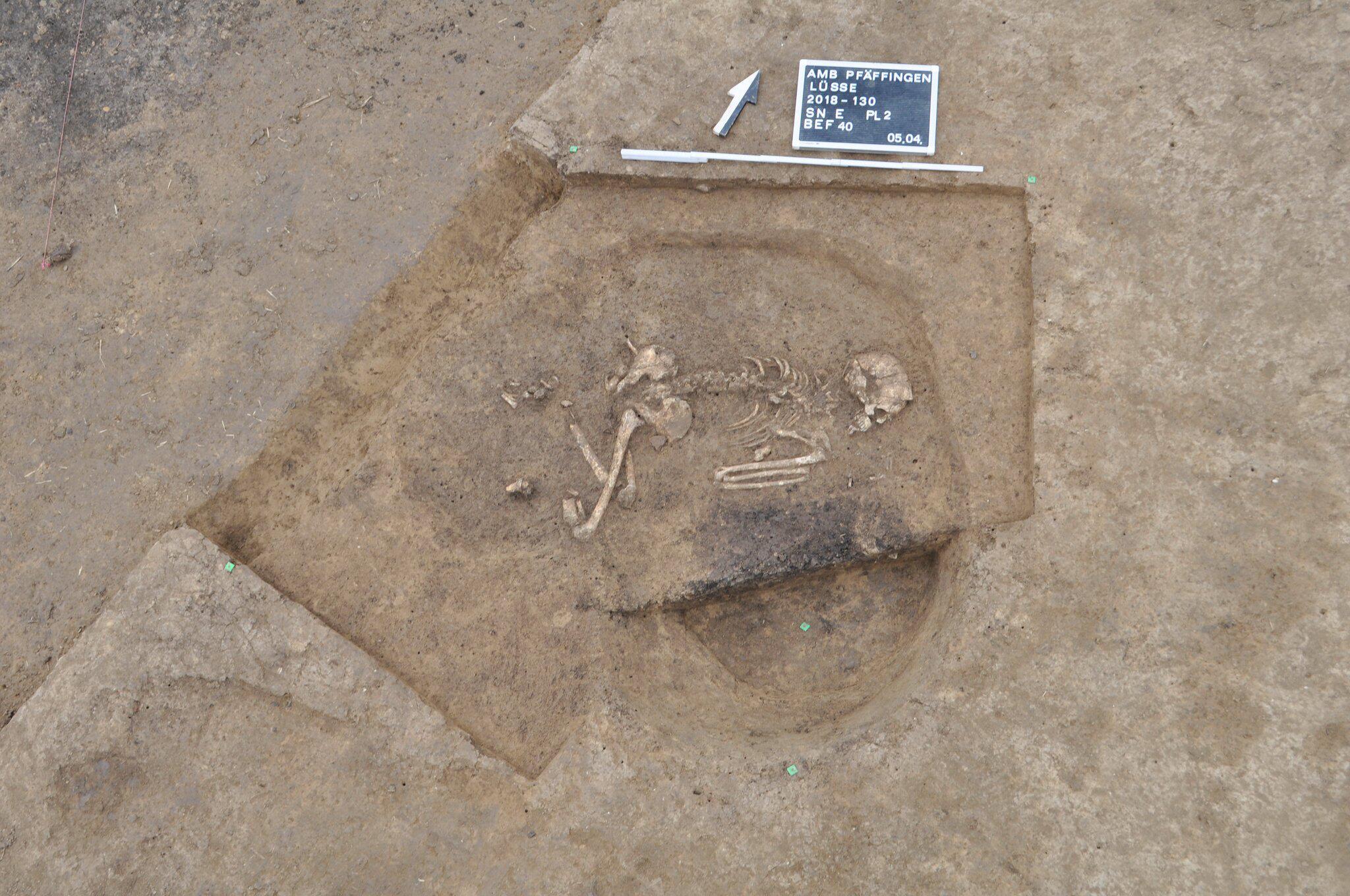 Bild zu Forscher entdecken uralte Grabenanlage