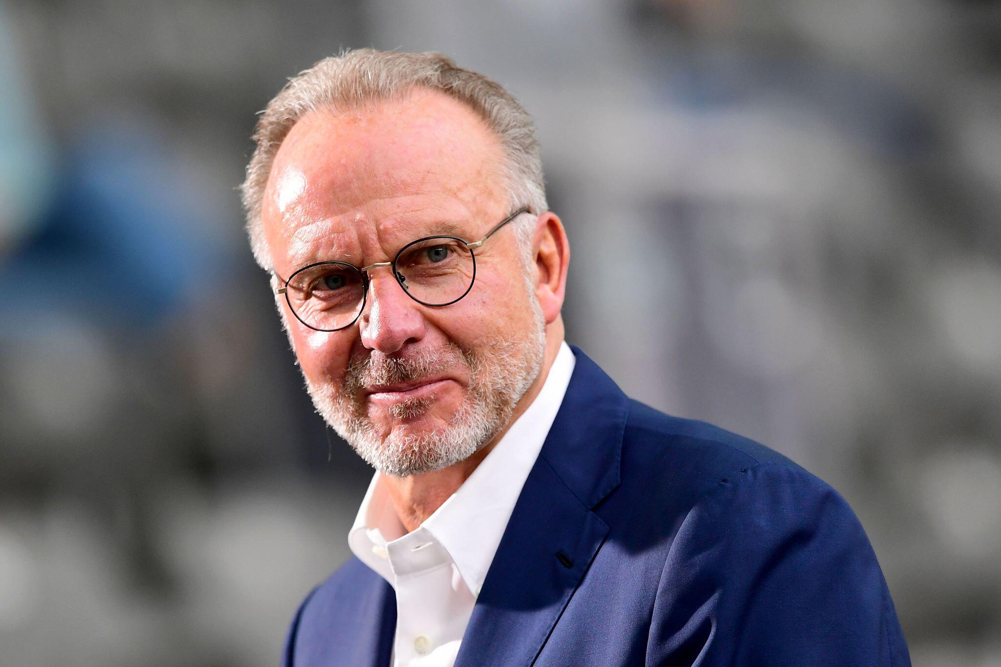 Bild zu Bayern Münchens Vorstandschef Rummenigge
