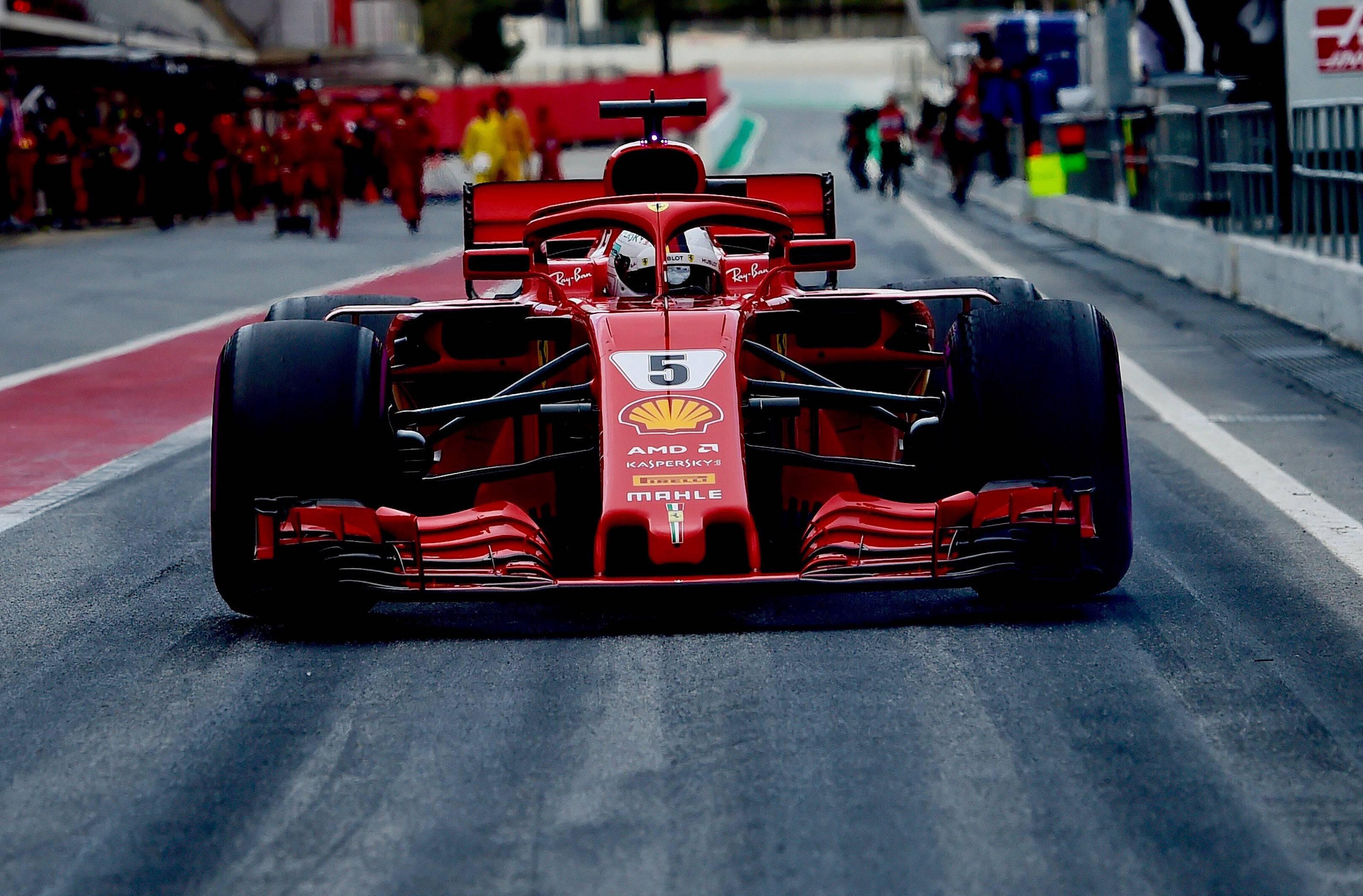 Bild zu Ferrari, Formel 1, Saison 2018, F1, Melbourne, Australien