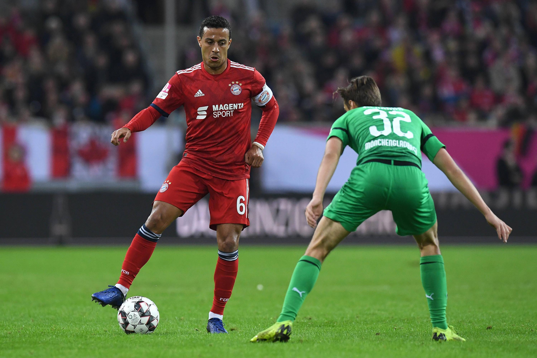 Bild zu Bayern, München, Telekom-Cup, Thiago, Gladbach, Bundesliga, Fussball