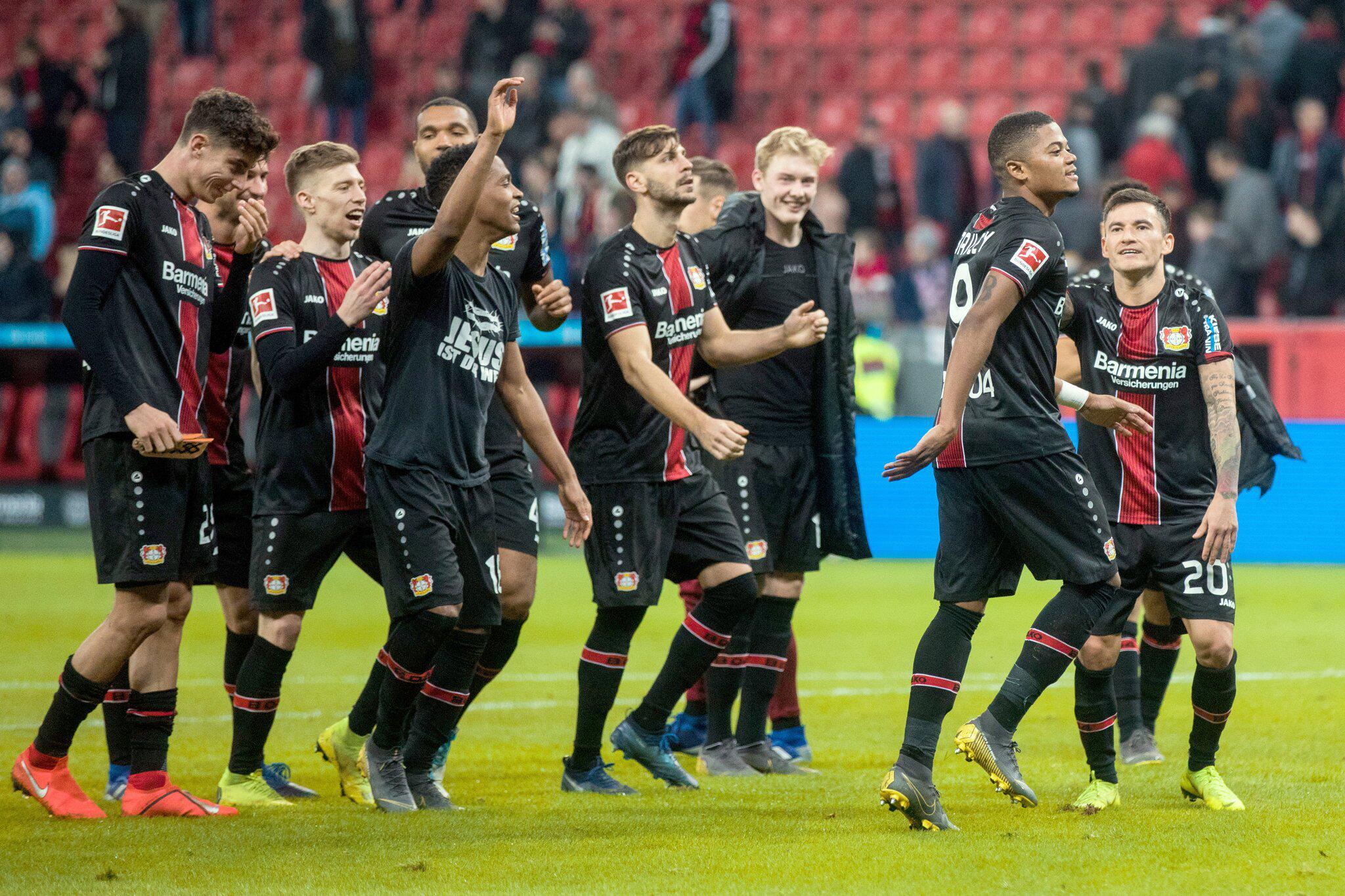 Bild zu Bayer Leverkusen - Fortuna Düsseldorf