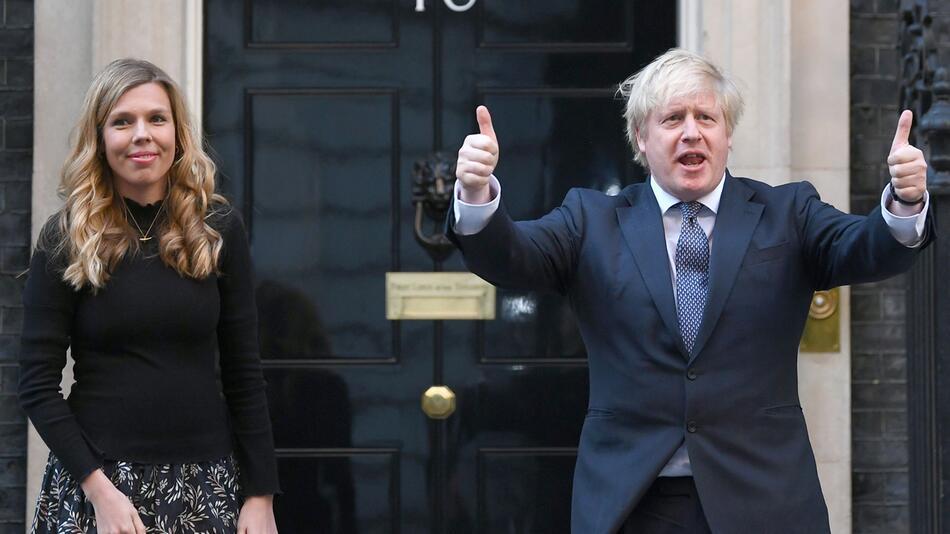 Britischer Premierminister Johnson wird erneut Vater