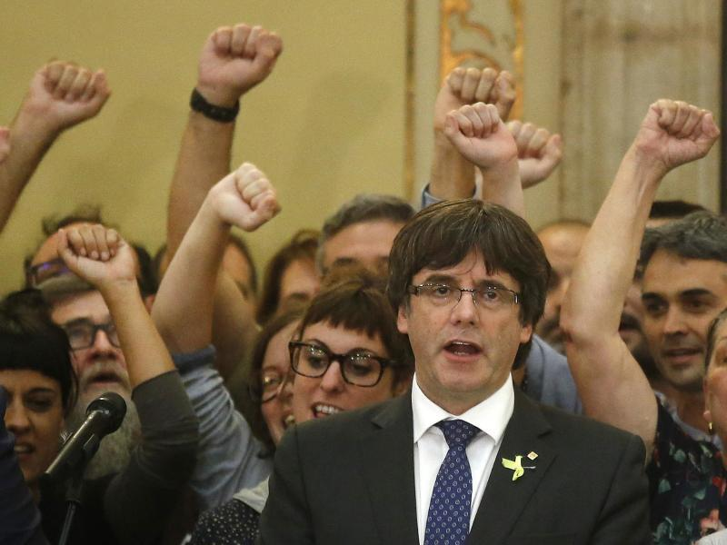 Bild zu Puigdemont