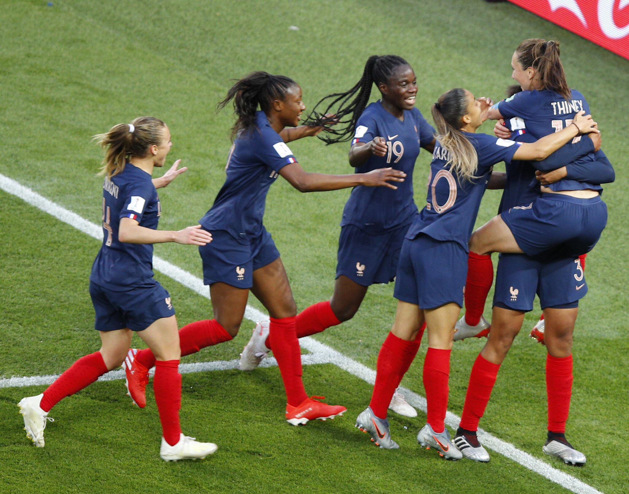 Bild zu Frauen-Fussball-WM: Frankreich - Südkorea
