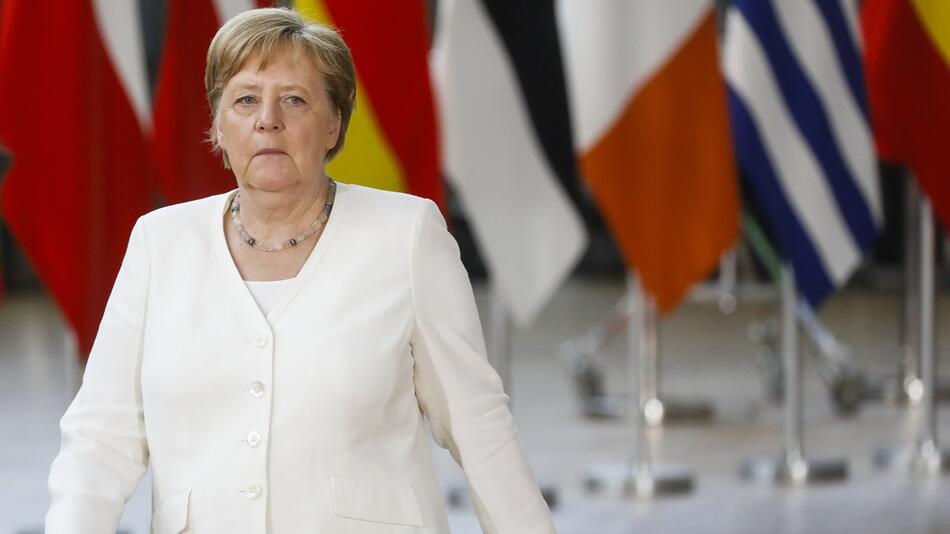 EU-Sondergipfel in Brüssel, Angela Merkel