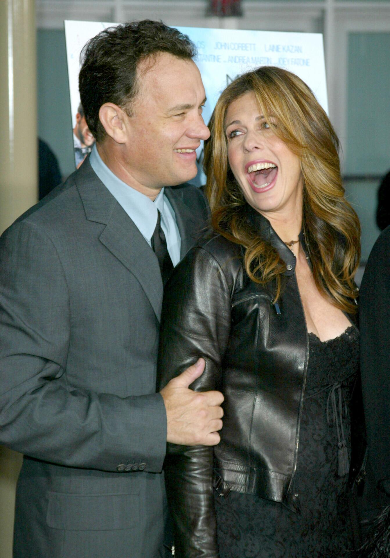 Bild zu Tom Hanks, Rita Wilson, My Big Fat Greek Wedding, Premiere