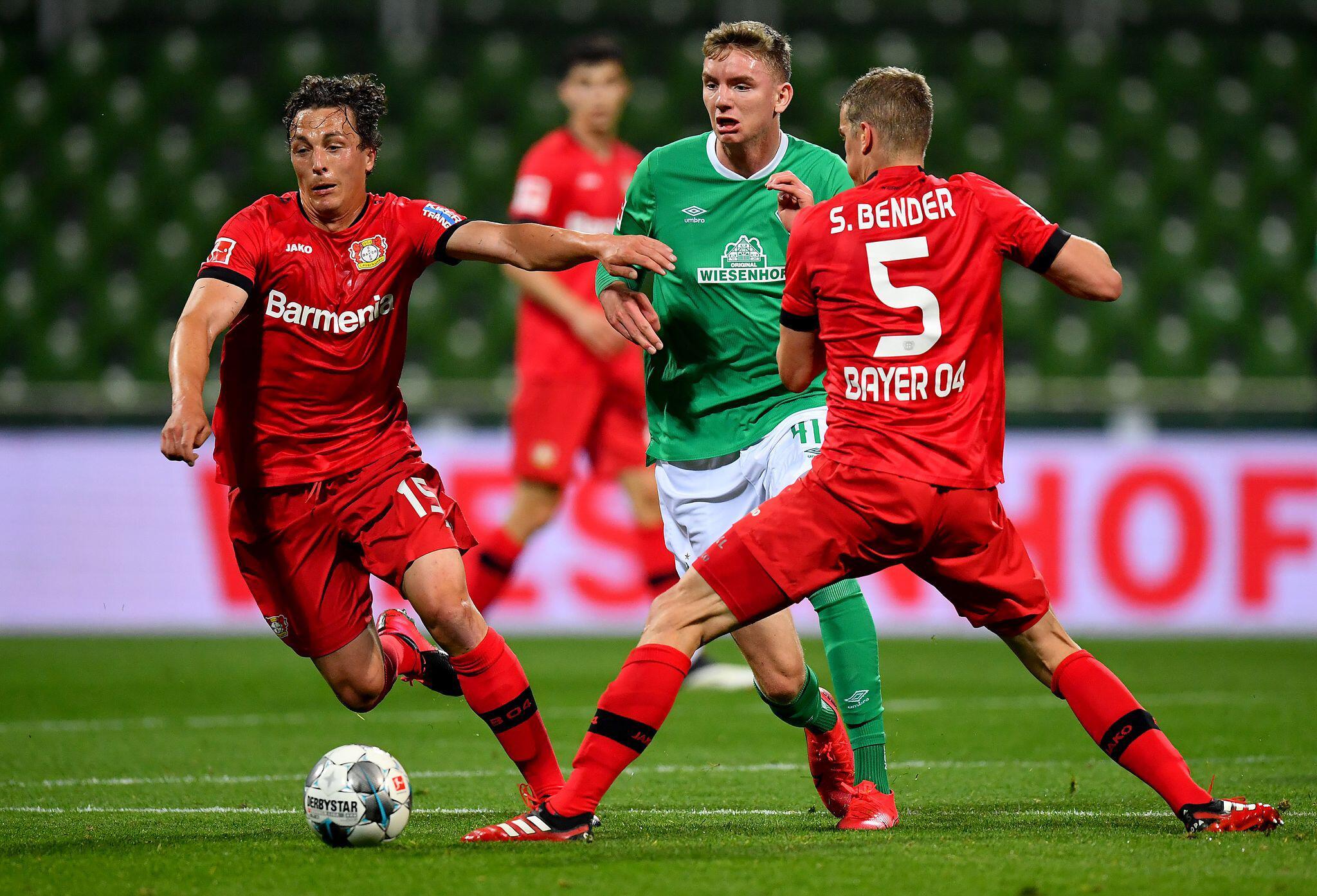 Bild zu Werder Bremen - Bayer Leverkusen 1:4
