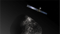 "Weltraumsonde ""Rosetta"""