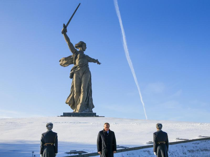 Bild zu Gedenken in Wolgograd
