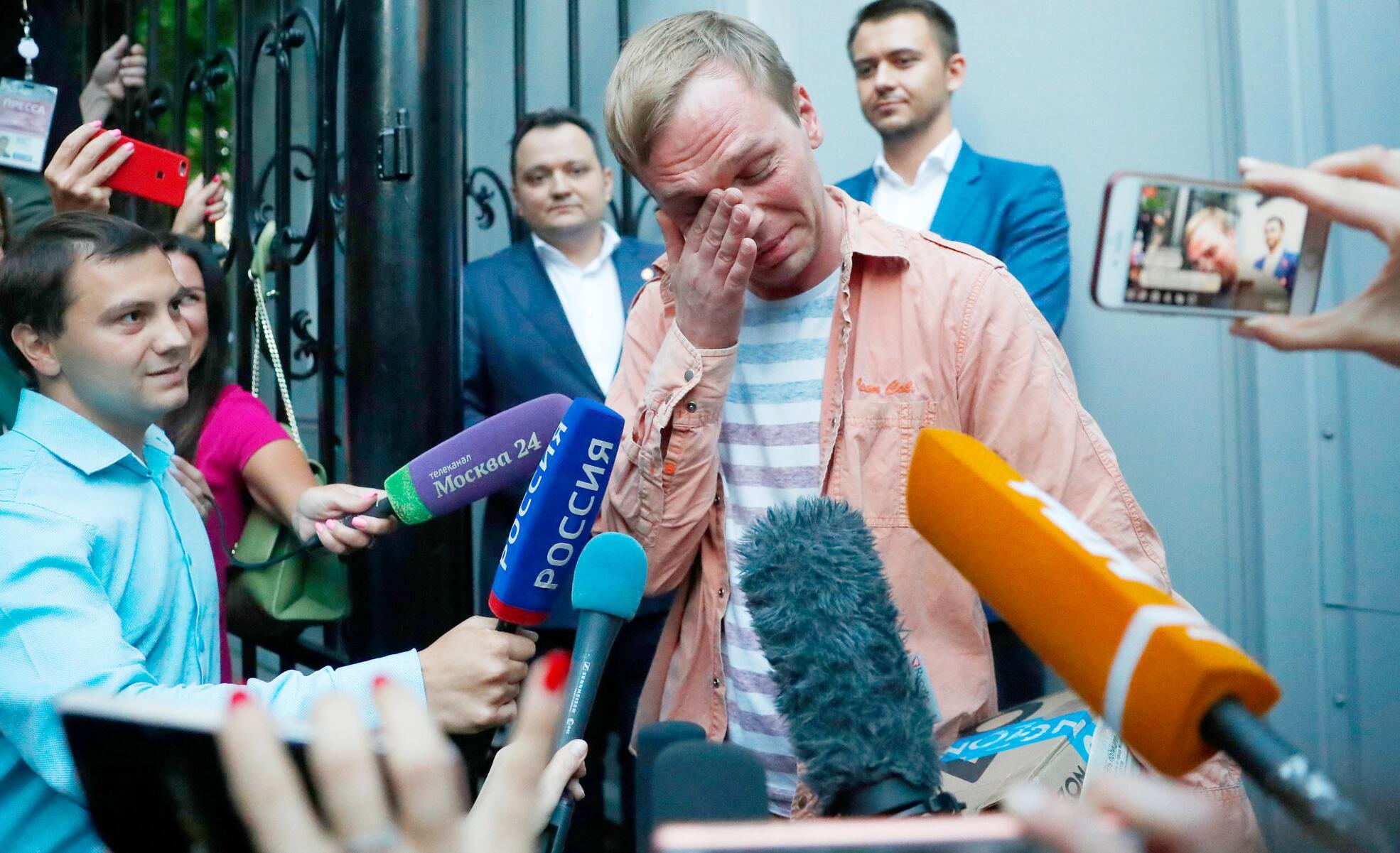 Bild zu Russischer Enthüllungsjournalist kommt auf freien Fuss