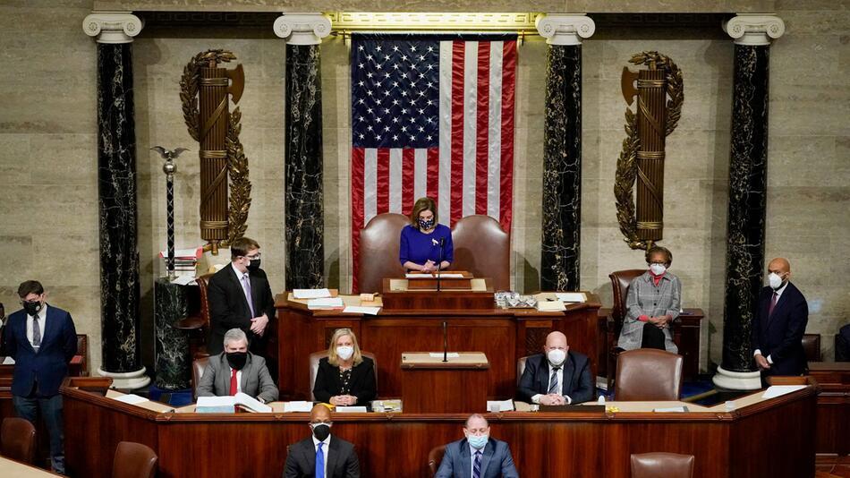 Zertifizierung der US-Wahlergebnisse im US-Kongress