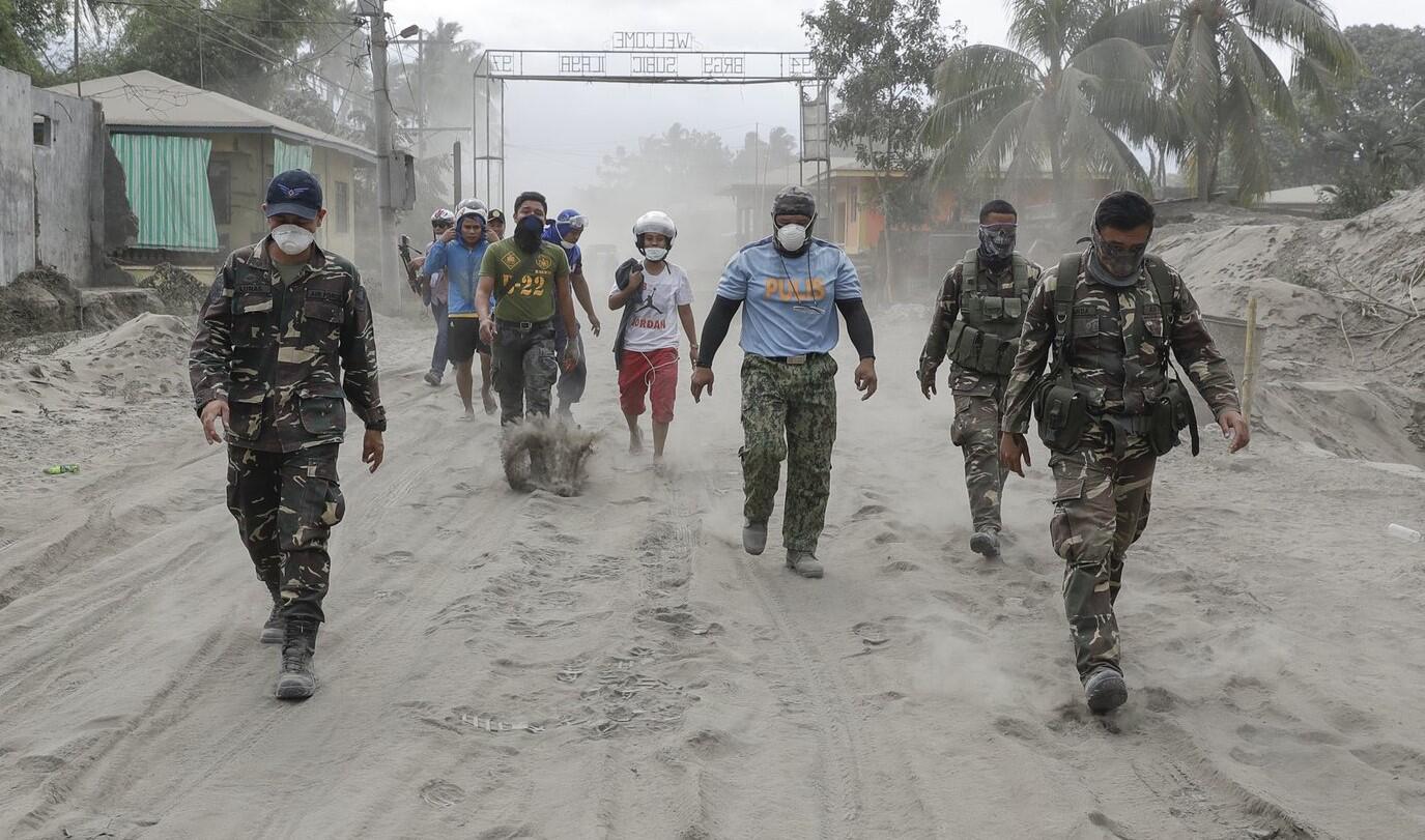 Bild zu Vulkanausbruch, Philippinen, Flucht, Taal