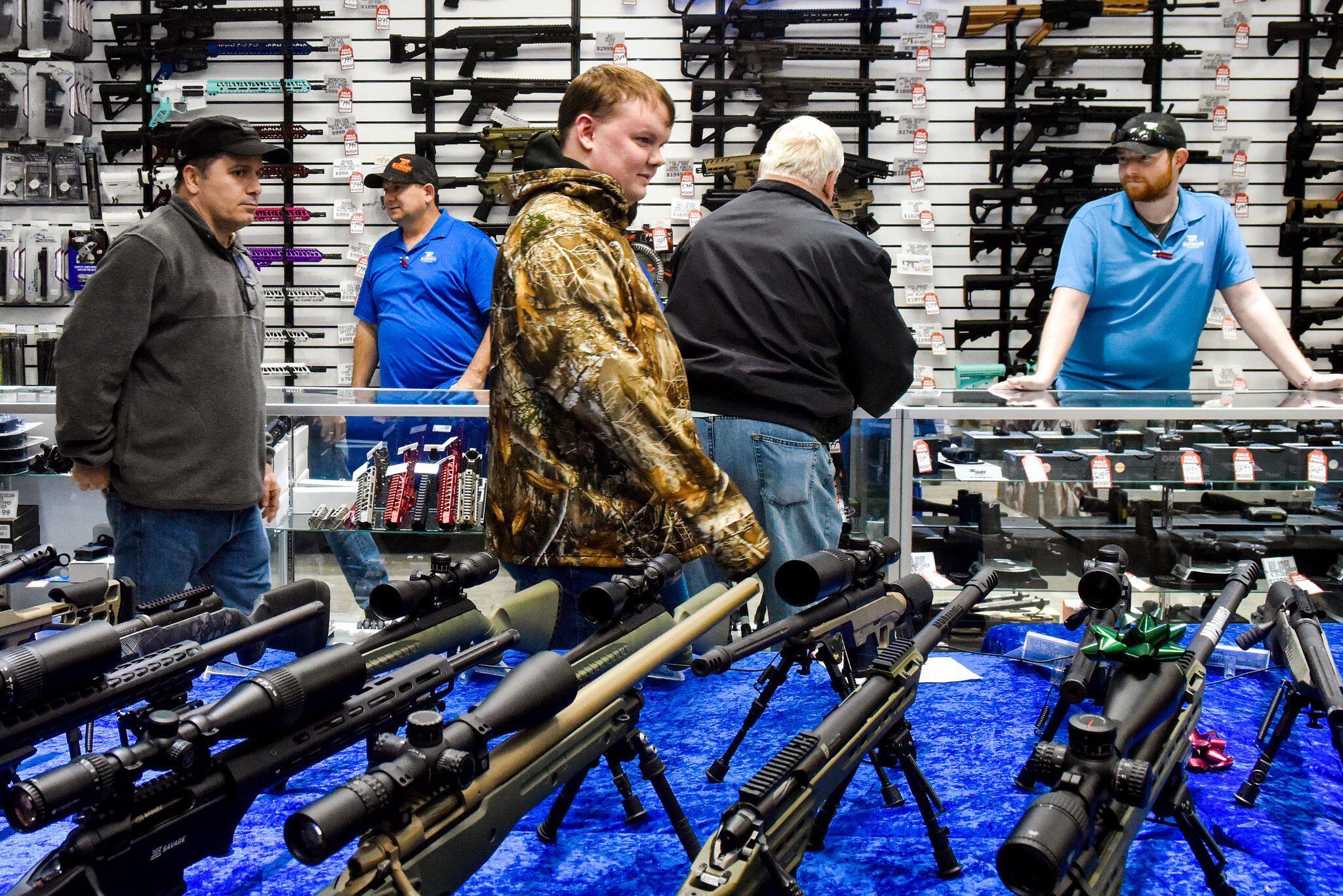 Bild zu Waffenladen in den USA