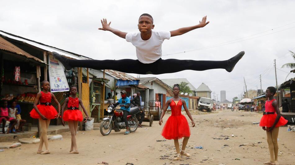 Nigerianischer Balletttänzer bekommt Stipendium in den USA