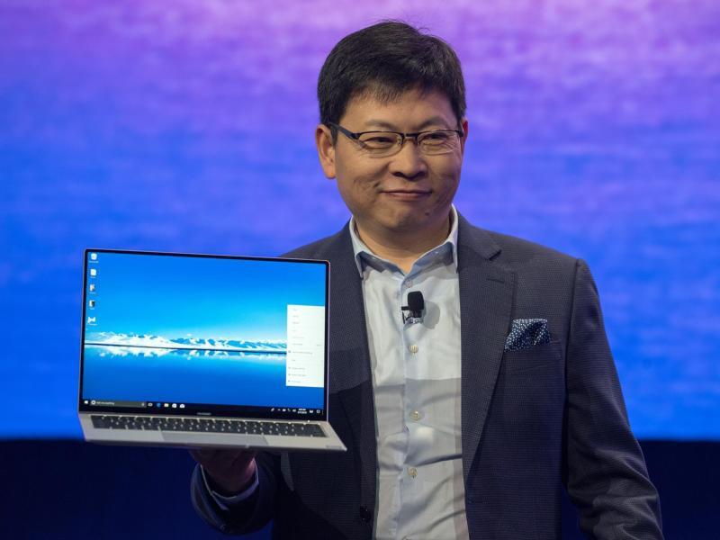 Bild zu Huawei-Chef Richard Yu