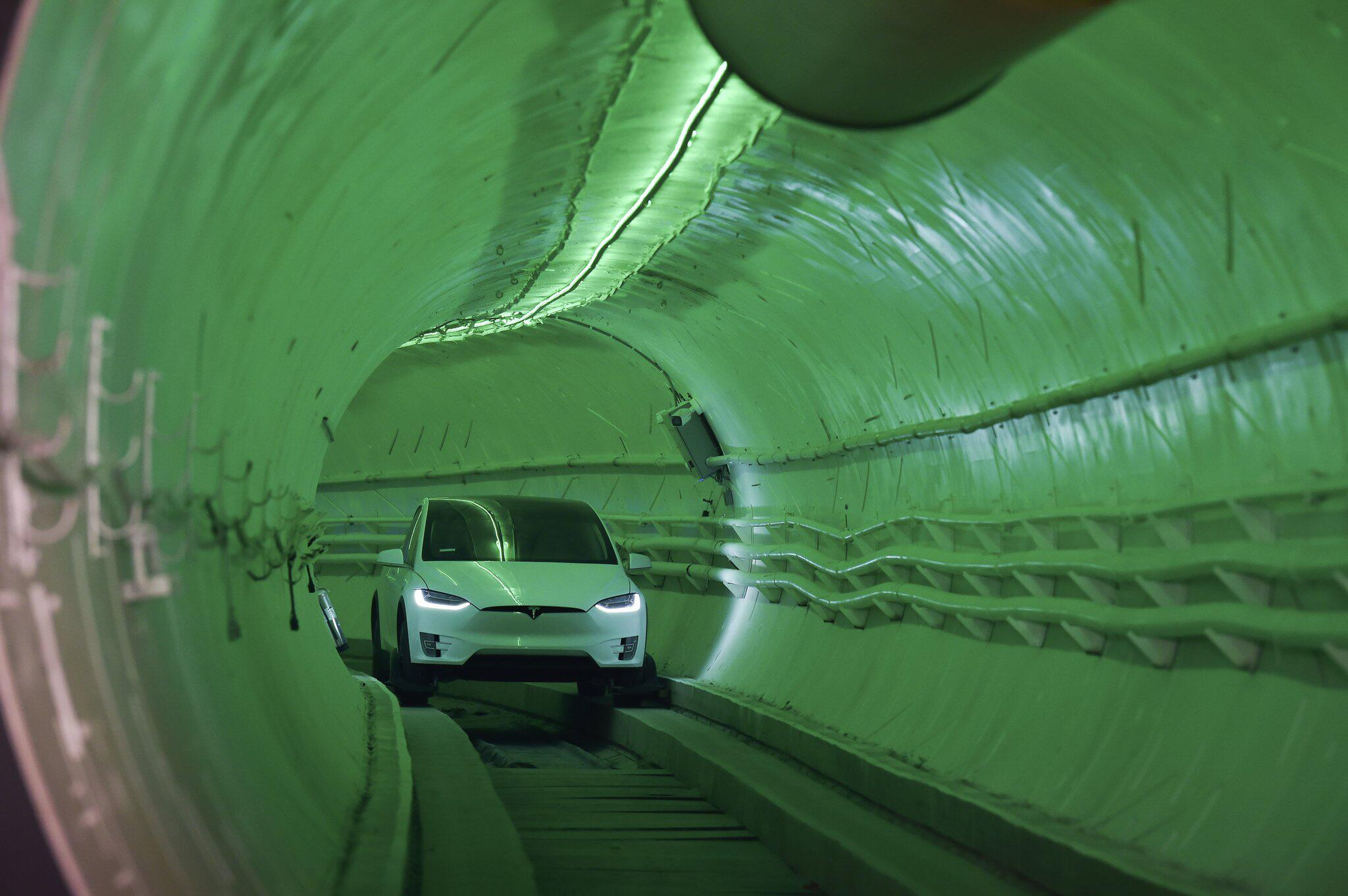 Bild zu The Boring Company Testtunnel