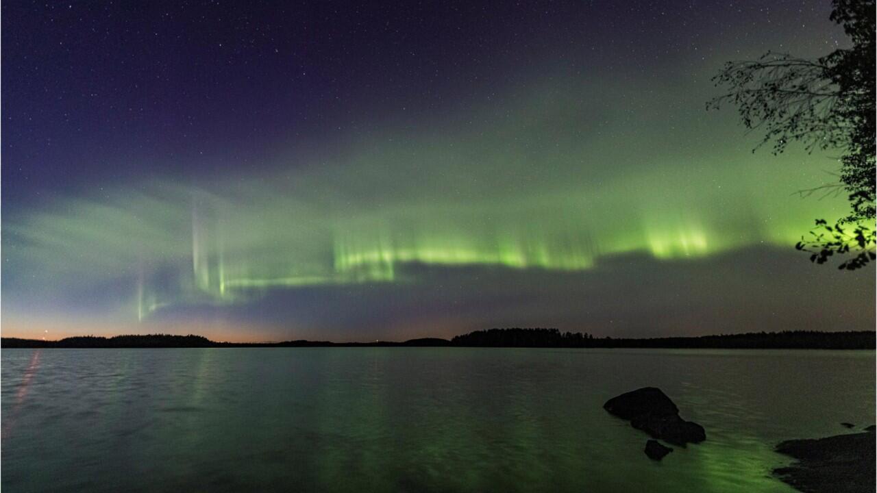 Bild zu Wissenschaftler entdecken neue Variante des Polarlichts