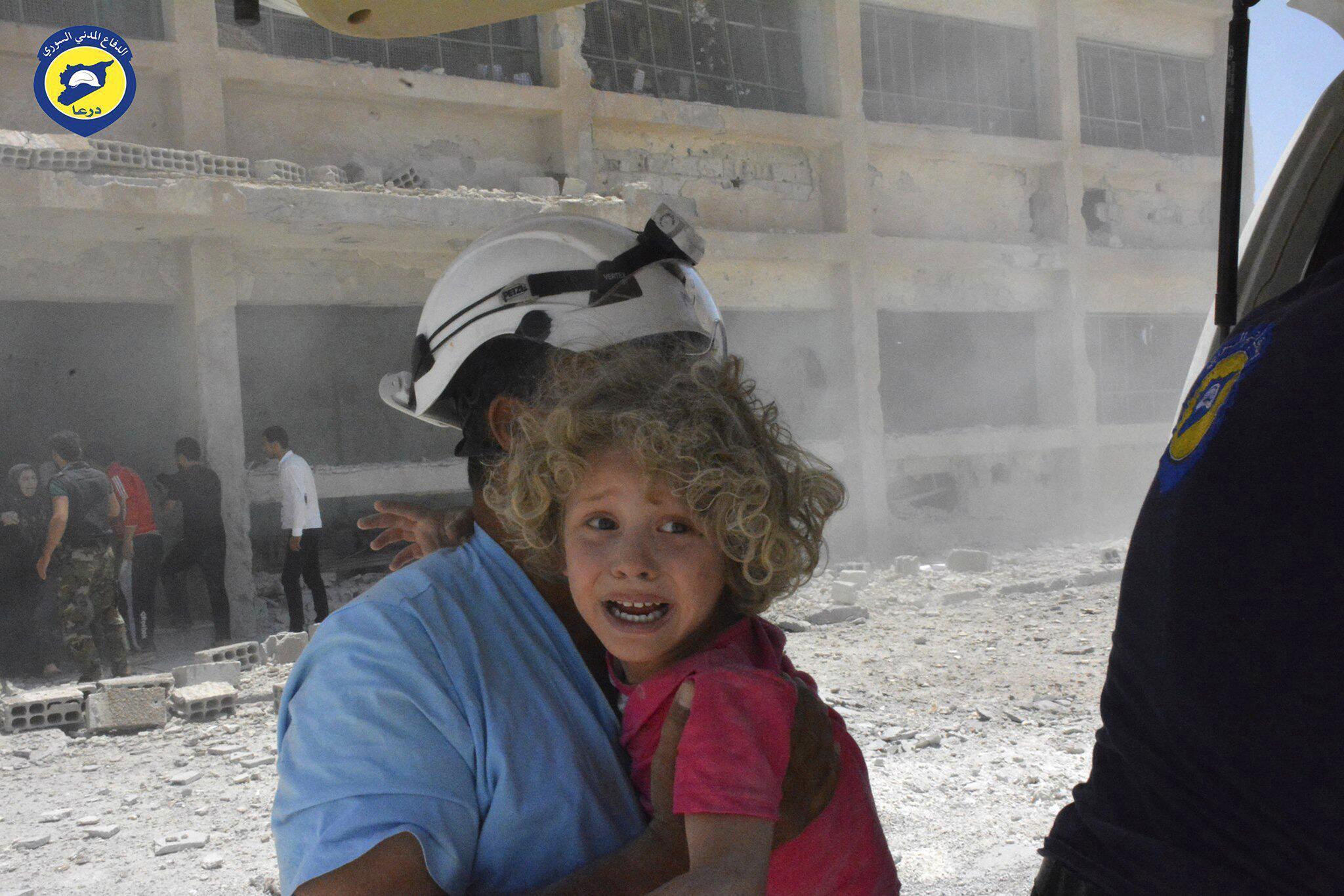 Bild zu Weisshelme in Syrien