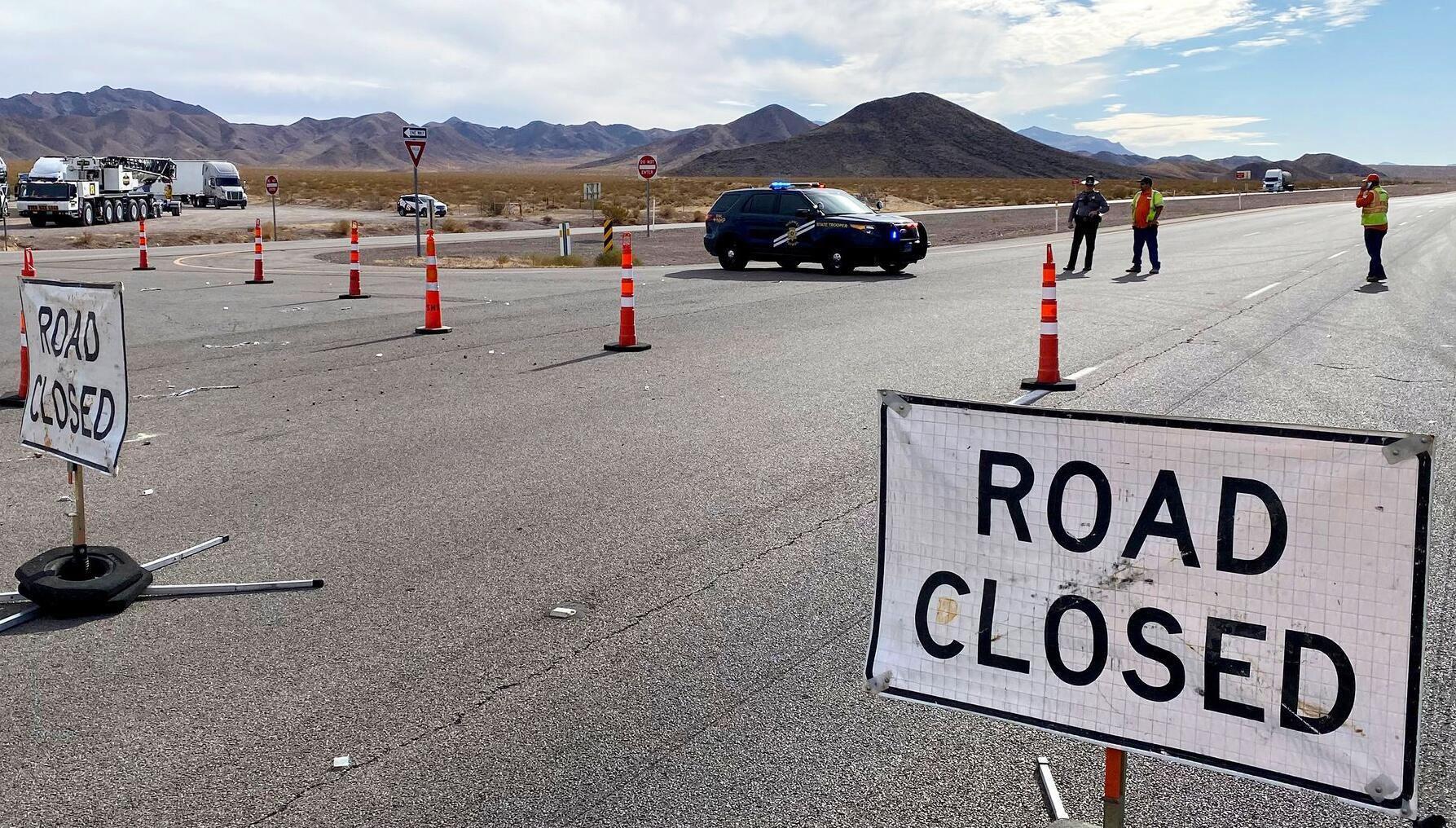 Bild zu Lieferwagen rammt Radfahrer bei Las Vegas