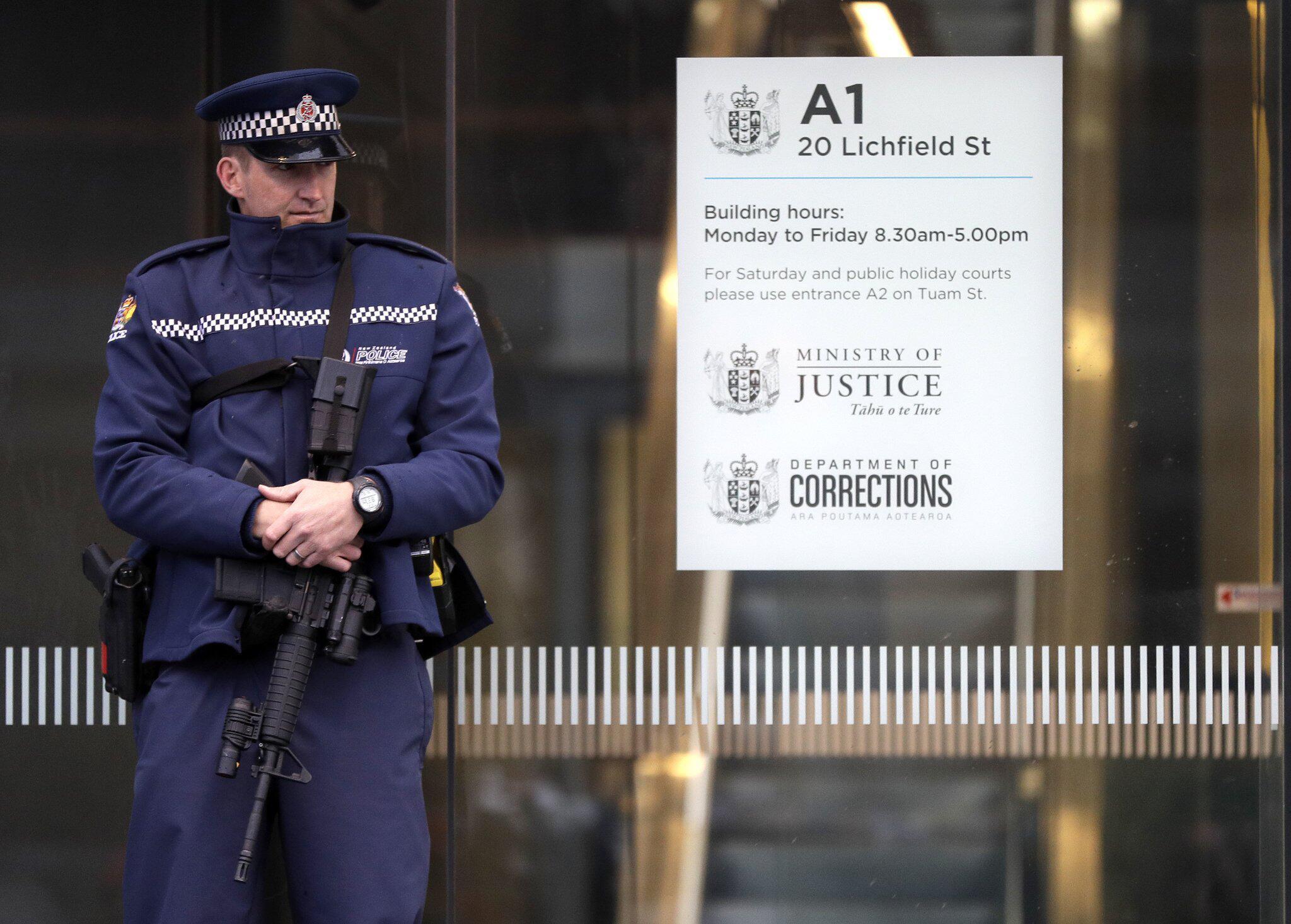 Bild zu Mutmasslicher Christchurch-Attentäter vor Gericht
