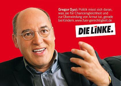 Bild zu Die-Linke-Wahlplakat