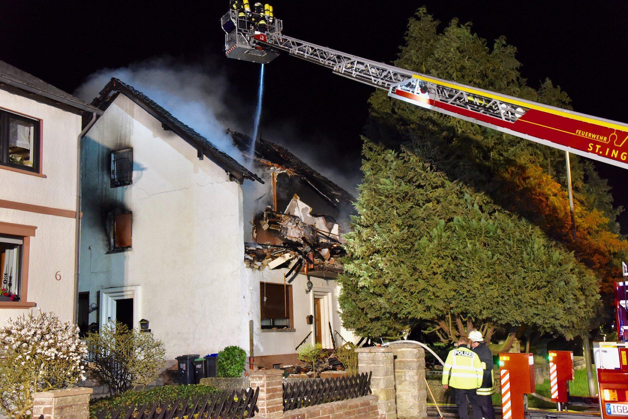 Bild zu Explosion, Mehrfamilienhaus, Saarland, Mandelbachtal, tot, Leiche