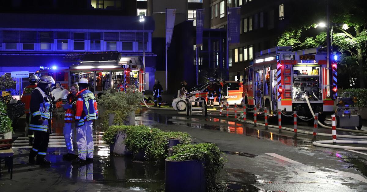 Patient stirbt bei Brand in Düsseldorfer Klinik - Über 70 Verletzte | GMX.CH
