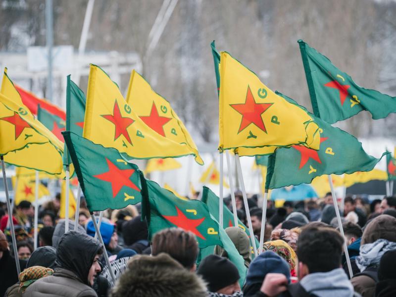 Bild zu Kurden-Proteste in Hannover