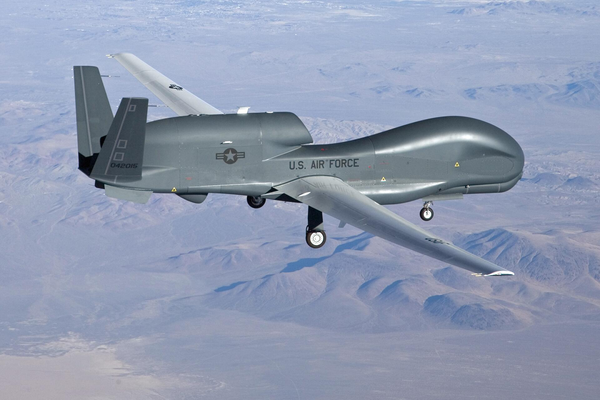 Bild zu US-Drohne Global Hawk