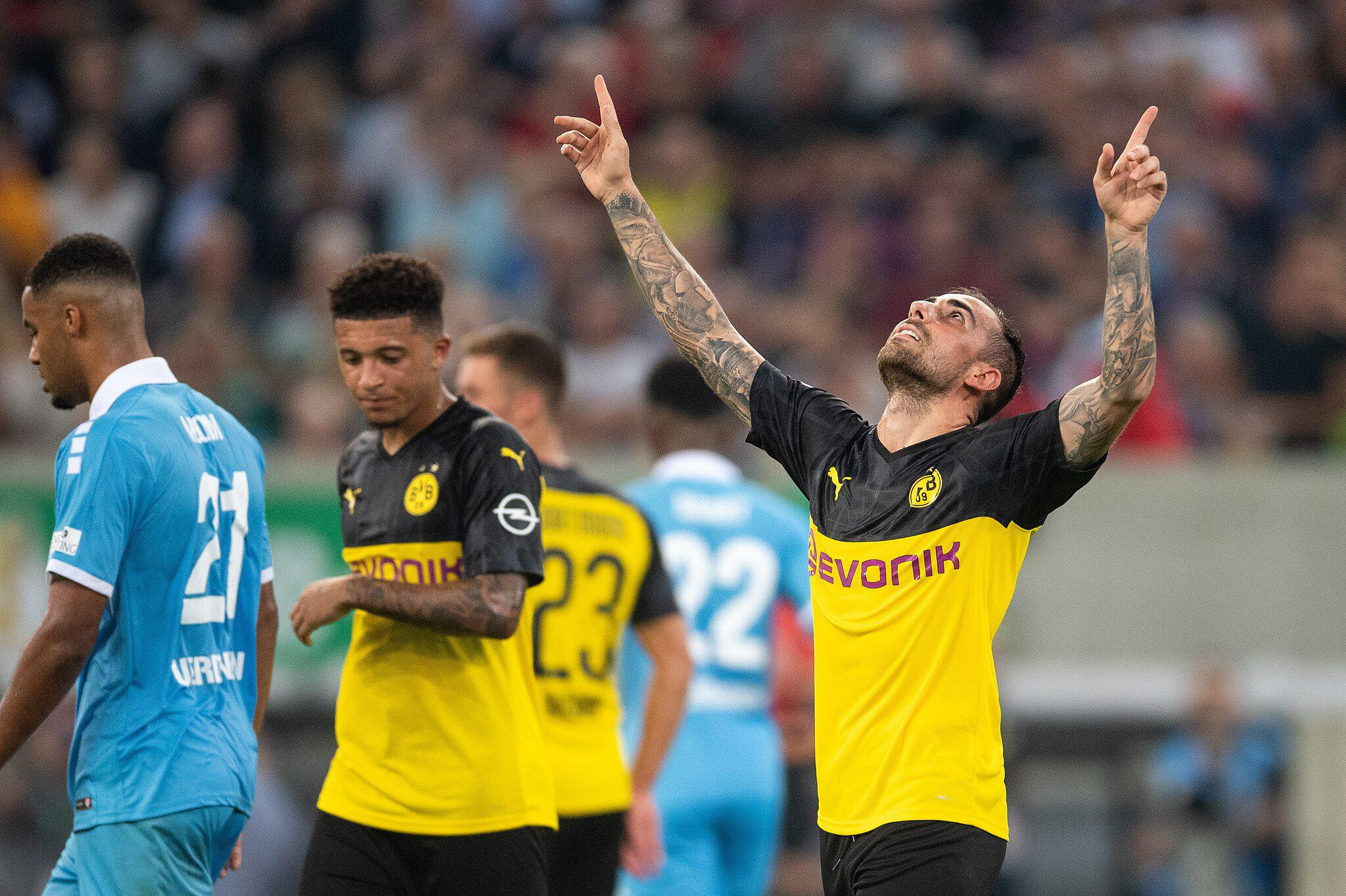 Bild zu KFC Uerdingen - Borussia Dortmund