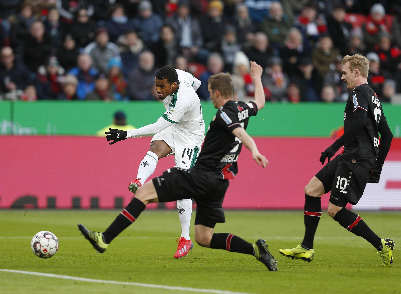 Bild zu Bundesliga, Fussball, Gladbach, Leverkusen