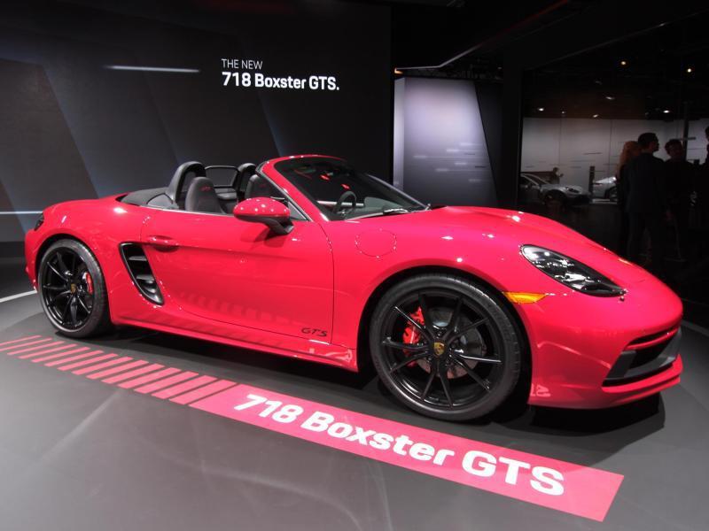 Bild zu Porsche 718 GTS