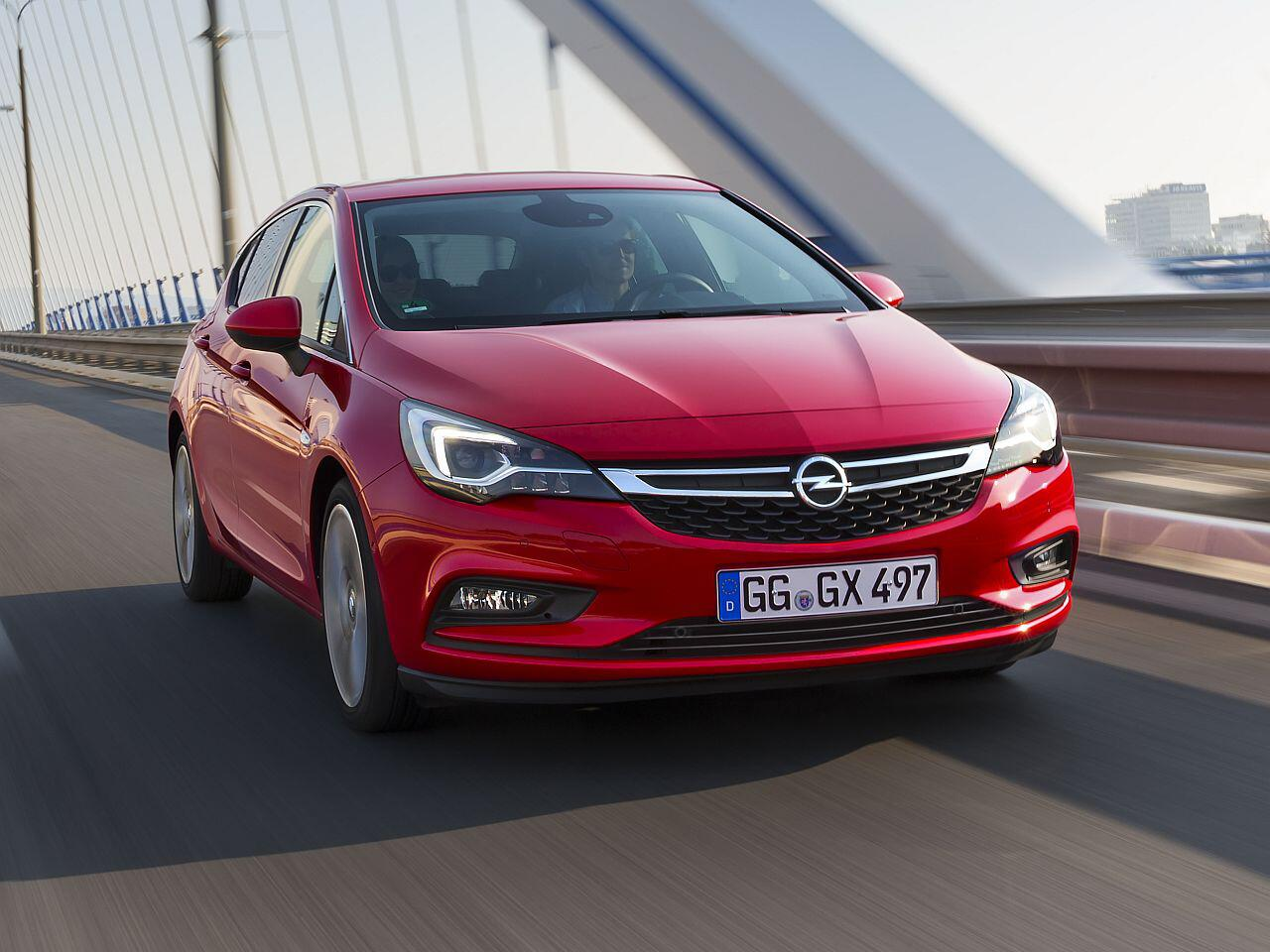 Bild zu Platz 11: Opel Astra
