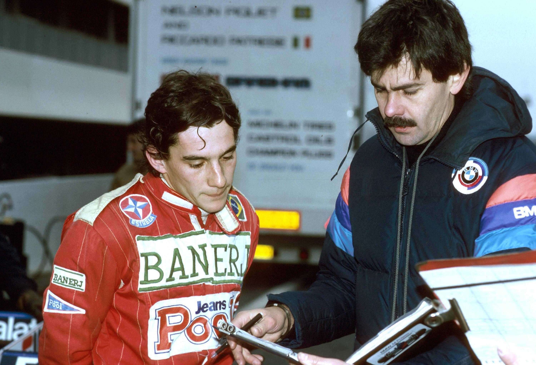 Bild zu Ayrton Senna, Test, Formel 1, 1983, Südafrika, Gordon Murray, Brabham, BMW, Brabham-BMW