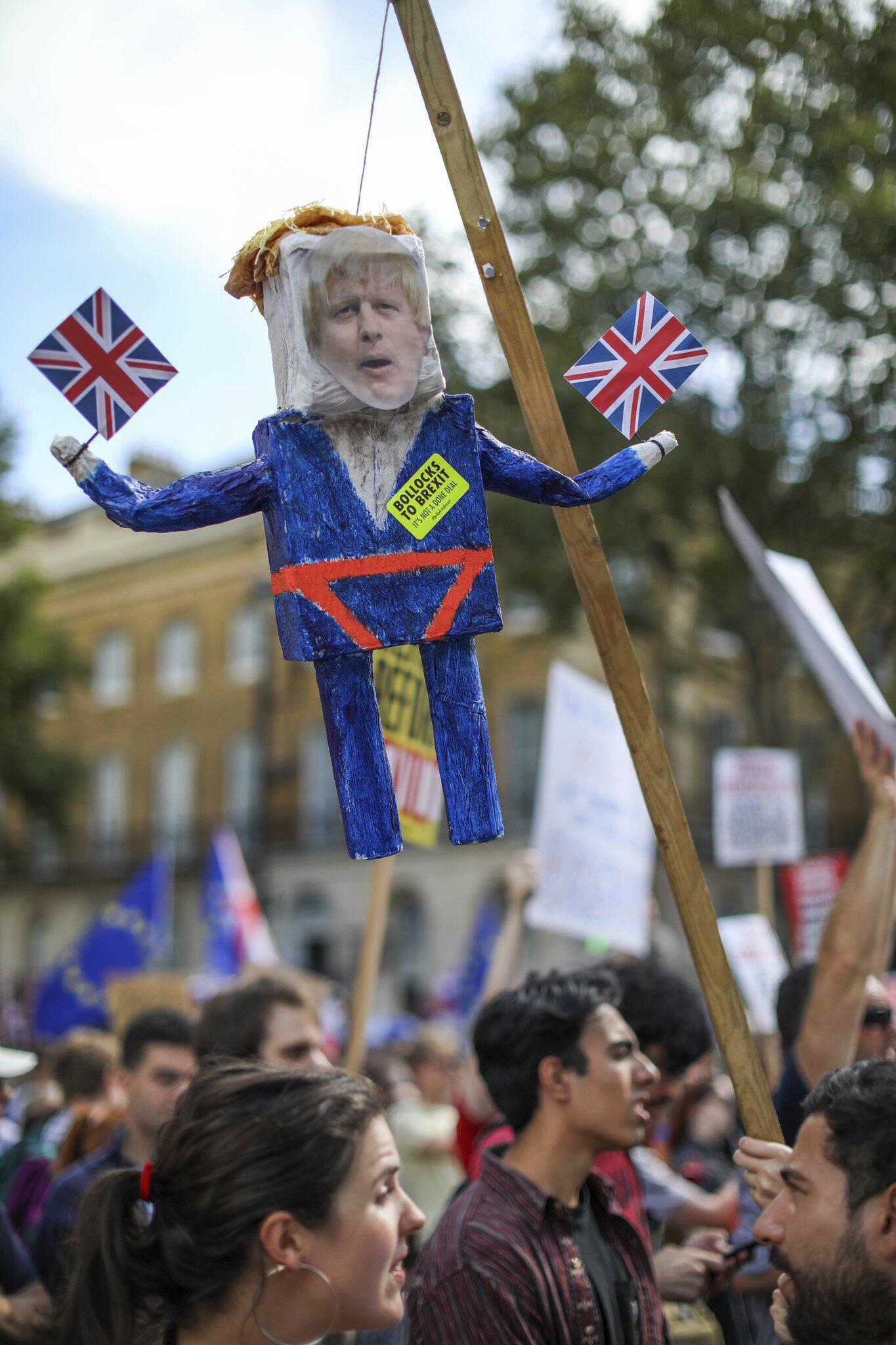 Bild zu Anti-Brexit-Demo in Grossbritannien