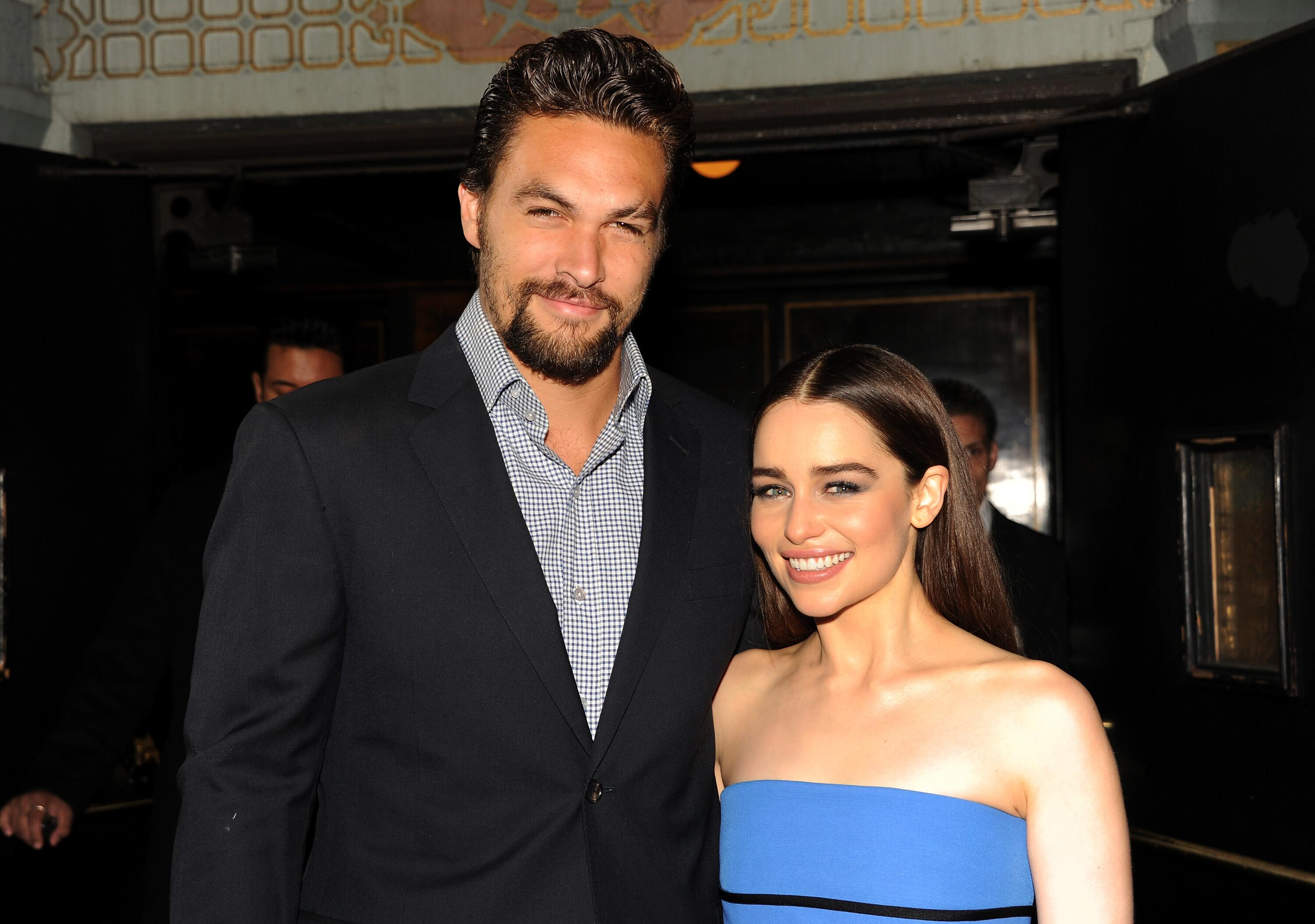 Bild zu Emilia Clarke, Jason Momoa, Game of Thrones