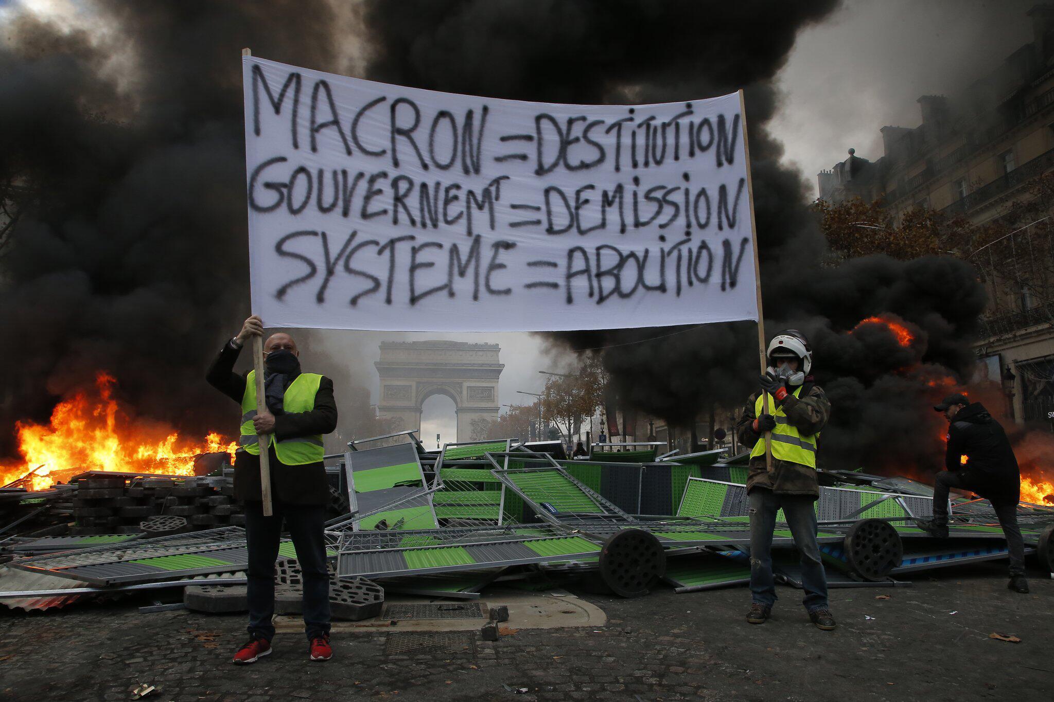 Frankreich Gelb Vorbelastet