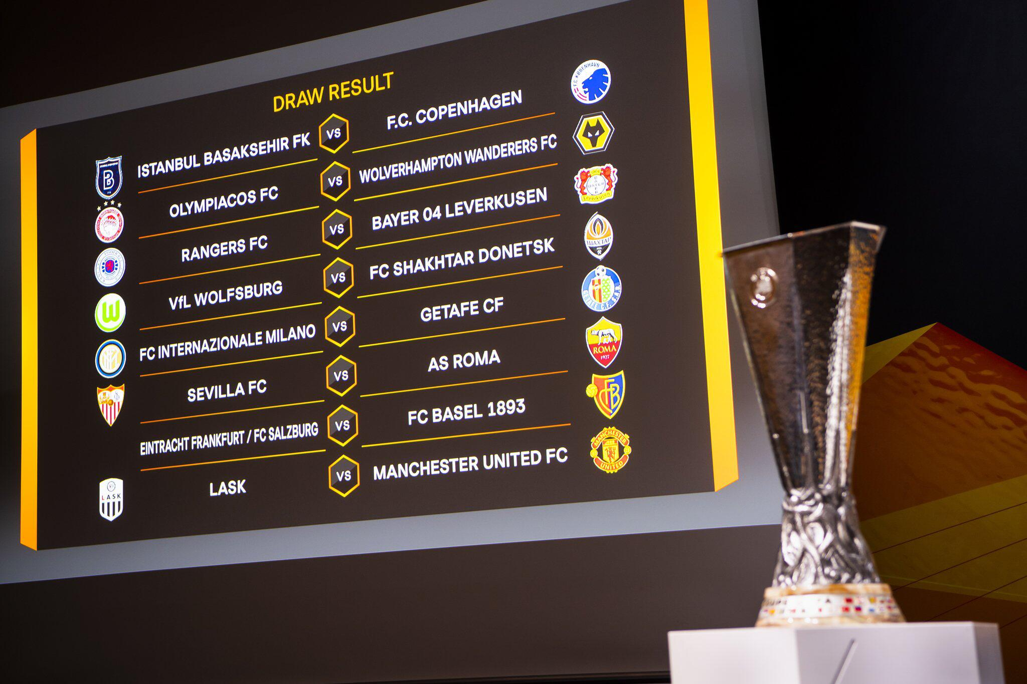 Bild zu Europa League Auslosung - Achtelfinale