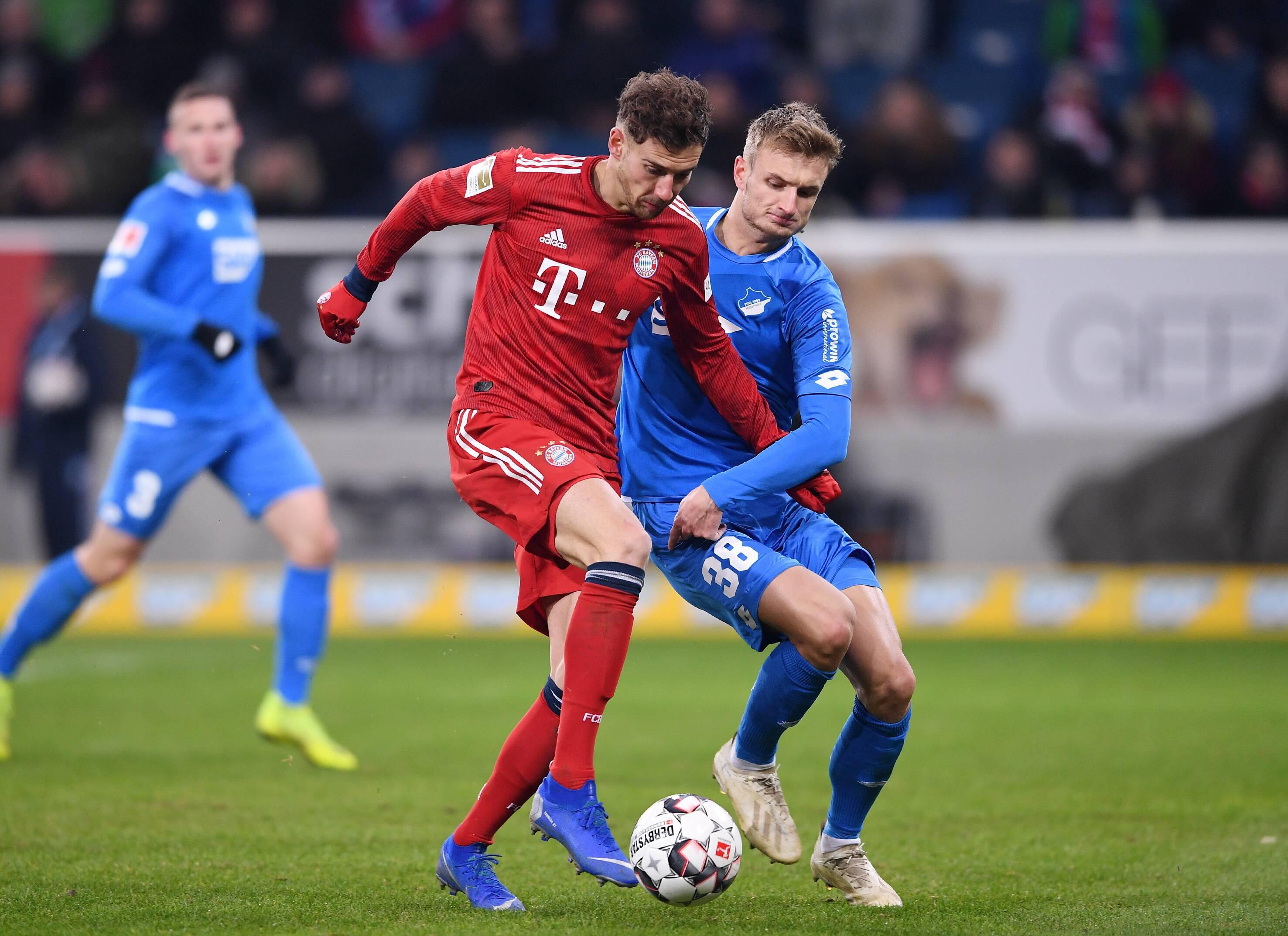 Bild zu Fussball, Bundesliga, Hoffenheim, Bayern, Goretzka