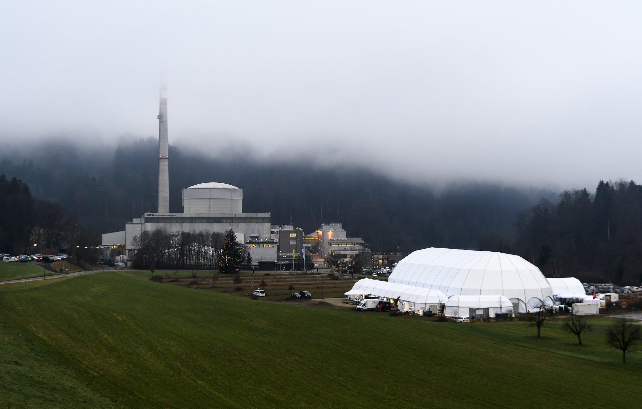 Bild zu Schweizer Atomkraftwerk Mühleberg wird abgeschaltet