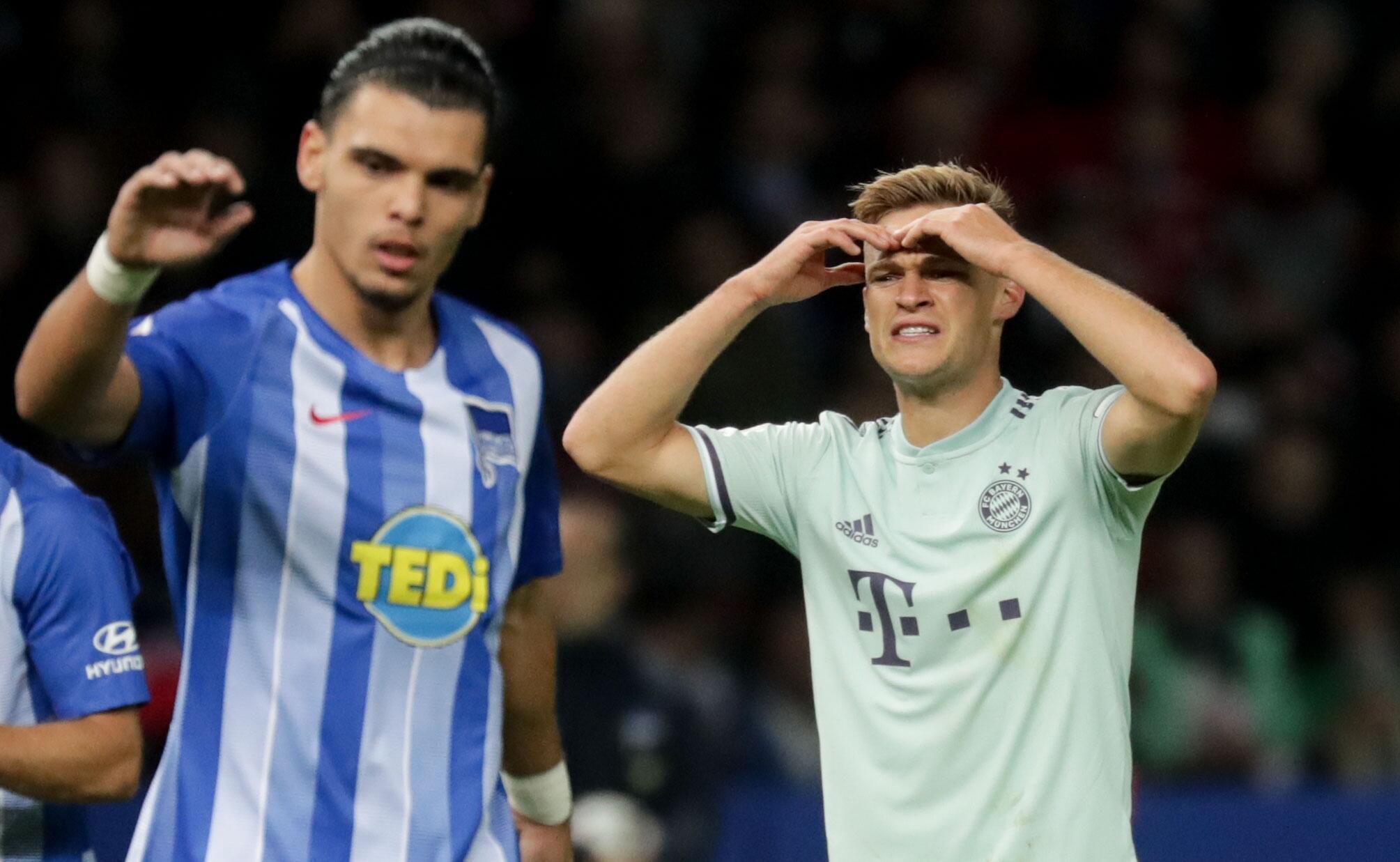 Bild zu Hertha BSC vs FC Bayern Munich