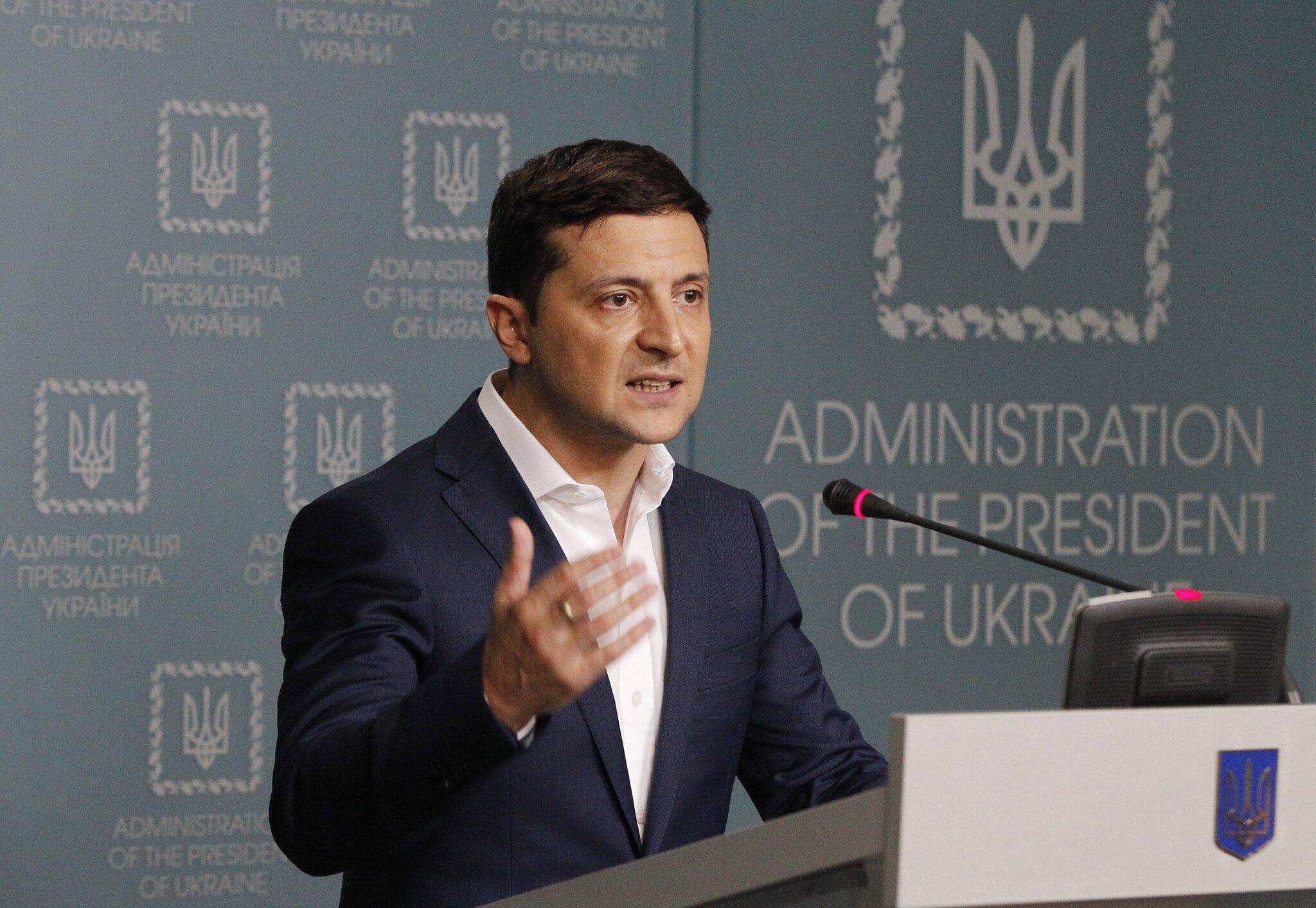 Bild zu Selenskyj wirft Aussenminister der Ukraine Sabotage vor