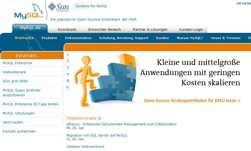 Open Source Datenbank