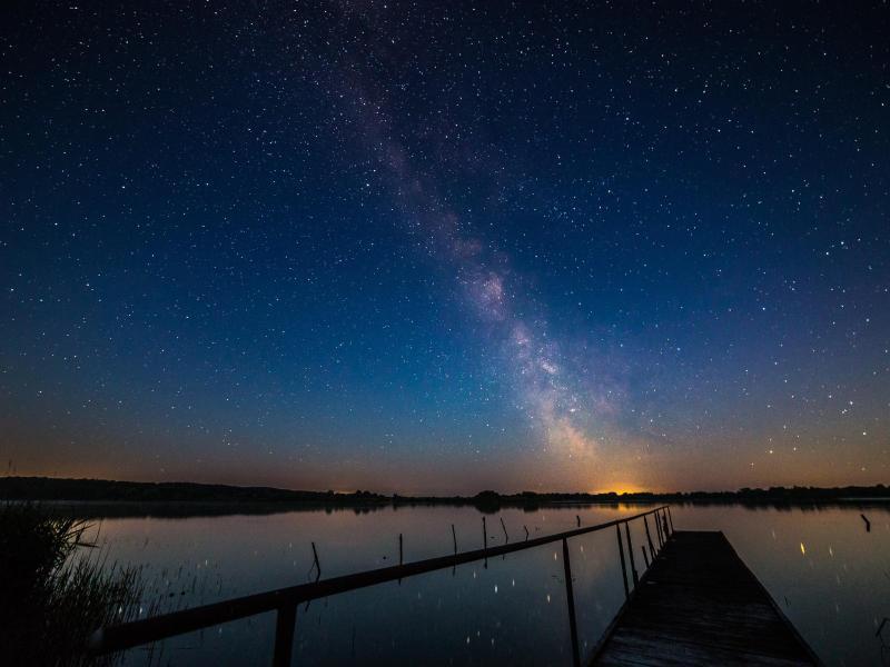 Bild zu Mecklenburg-Vorpommern bei Nacht